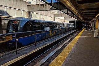 Columbia station (SkyTrain) Metro Vancouver SkyTrain station