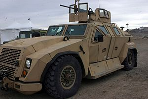 Combat Tactical Vehicle (Technology Demonstrator) - The CTV outside Carson City, Nevada