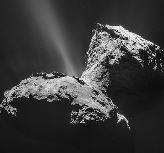 CAESAR (spacecraft) - Image: Comet 67P on 31 January 2015 NAVCAM
