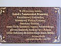 Commemorative plaque in Basilica of the Nativity of St Mary and St Nicholas in Bielsk Podlaski - 08.jpg