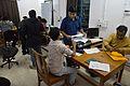 Conference Preparation - Bengali Wikipedia 10th Anniversary Celebration - Jadavpur University - Kolkata 2015-01-07 2314.JPG