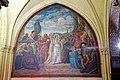 Conflans-Sainte-Honorine (78), église Saint-Maclou, chapelle latérale nord, 1ère travée, peinture monumentale - le martyr de sainte Honorine, 1874.jpg