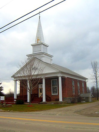 National Register of Historic Places listings in Grand Isle County, Vermont - Image: Cong Church of Grand Isle