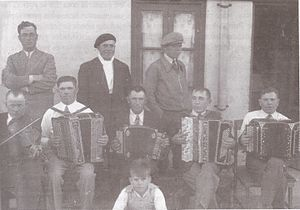 Belarusian Argentines - Musical ensemble of workers Belarusians, Comodoro Rivadavia, 1930s