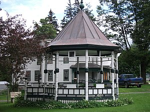 National Register of Historic Places listings in Lewis County, New York - Image: Constableville Historic District Jun 11