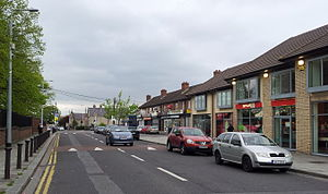 Coolock - Main Street, Coolock Village