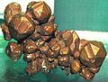 Copper crystals (Mesoproterozoic, 1.05-1.06 Ga; Keweenaw Peninsula, northern Michigan, USA) (17287762396).jpg
