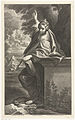 Cornelis Bloemaert, Saint Margaret after Annibale Carracci.jpg