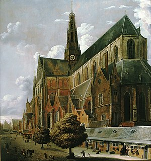 Altarpiece of the Holy Sacrament - Image: Cornelis Gerritsz Decker Bavokerk van de Oude Groenmarkt FHM OS 66 332
