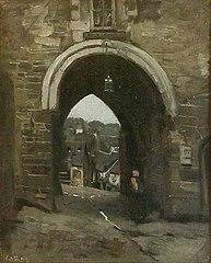 The Jerzual Gate in Dinan