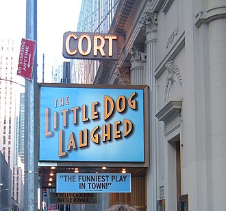 Cort Theatre - The Cort Theatre marquee