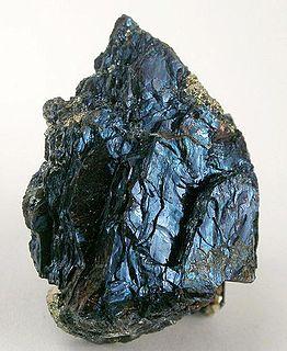 Covellite sulfide mineral