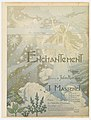 Cover, Cover for music score of Massenet's Enchantment, ca. 1890 (CH 51685251).jpg