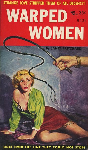 File:Cover of Warped Women by Janet Pritchard - Illustration by Robert Stanley - Beacon Books B121 1956.jpg