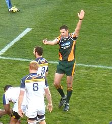 Craig Joubert, Bulls vs Brumbies, 2013.jpg