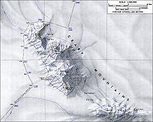 Mapa topográfico con escala de reducción 1:250.000, lo que significa ...
