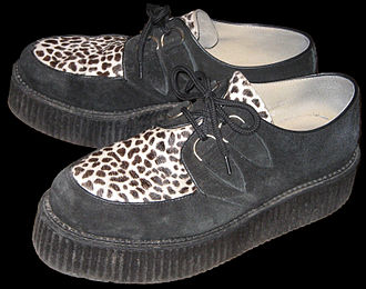 "Brothel creeper - A pair of ""double sole"" Creepers shoes"