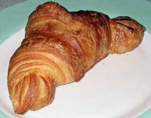 English: Croissant, of unknown origin, associa...
