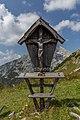 Cross in Sulzkar Valley, Gesäuse National Park, Ennstaler Alpen, Austria.jpg