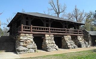 Crowleys Ridge State Park park in Greene County, Arkansas, United States of America