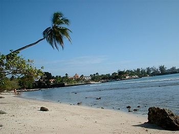 Beach at Crown Point, Tobago