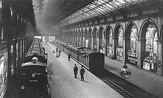Crystal Palace (High Level) railway station - Image: Crystal Palace High Level Station 1908