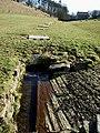 Culverted stream near Airton - geograph.org.uk - 128577.jpg