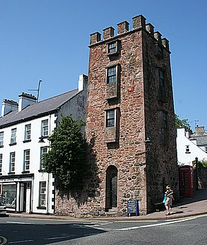 Cushendall - The Curfew Tower.