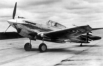 Curtiss P-40 Warhawk variants - P-40-CU s/n 39-156, the first of almost 14,000 Warhawks to come off the production line.