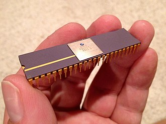 Original Chip Set - Chip Paula (MOS Technology 8364 R4) used in Amiga 1000