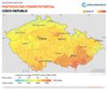 Czech-Republic PVOUT Photovoltaic-power-potential-map GlobalSolarAtlas World-Bank-Esmap-Solargis.png
