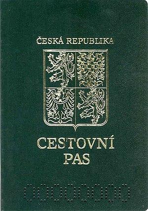 Czech passport - Cover