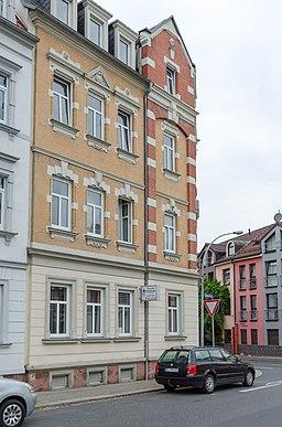 Dresdner Straße in Döbeln