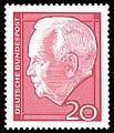 DBP 1964 429 Wiederwahl Bundespraesident Luebke 20Pf.jpg