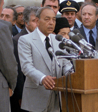 Hassan II of Morocco - Image: DF SC 83 08527 (cropped)