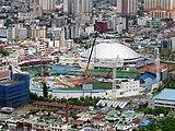 Rénovation du Daejeon Hanbat Ballpark.jpg