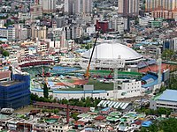 Daejeon Hanbat Ballpark renovation.jpg