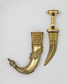 Dagger (Jambiya) with Scabbard and Fitted Storage Case MET DP157410.jpg