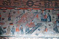 Dahuting tomb banquet scene, mural detail, Eastern Han Dynasty.jpg