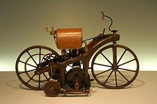 Daimler <i>Reitwagen</i> First motorcycle, 1885