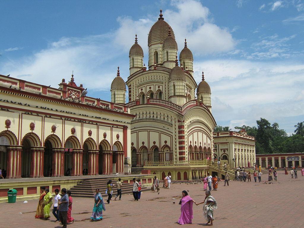 Dakhineshwar Temple beside the Hoogly, West Bengal