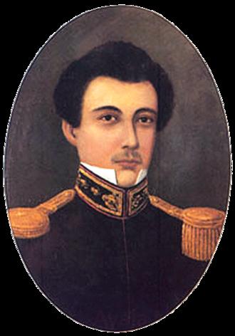 Damián Domingo - Portrait of Damián Domingo by José Domingo Gabor, Oil on canvas (Undated), Luis R. Ongpin Collection
