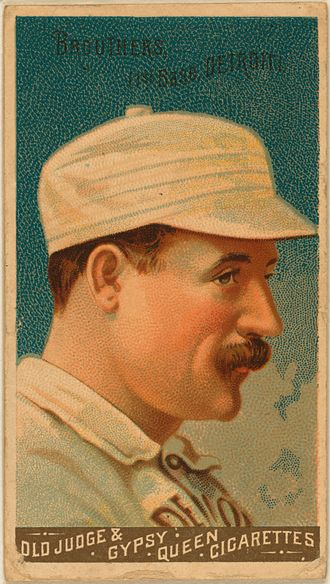 Dan Brouthers - Tobacco card of Dan Brouthers from 1888