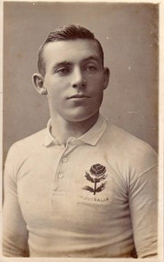Daniel Carroll (rugby union) - 1908 Wallaby