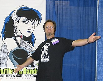 Dan Smith (artist) - Dan Smith at Origins in 2002