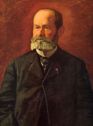 Daniel Garrison Brinton - Portrait painted by Thomas Eakins, circa 1899.