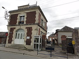 The town hall of Danizy