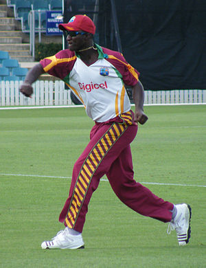Saint Lucia - Cricketer Daren Sammy.
