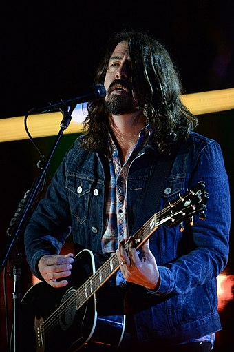 Dave Grohl and the Foo Fighters were the inaugural winners of the award Dave Grohl - Concert for Valor in Washington, D.C. Nov. 11, 2014.jpg