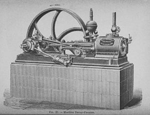 Paxman (engines) - Stationary Davey-Paxman engine from the 1890s.
